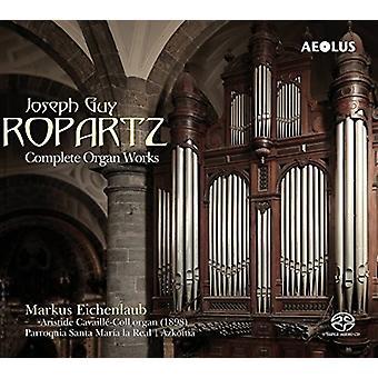Ropartz / Eichenlaub - Ropartz / Eichenlaub: komplet orgelværker [SACD] USA import
