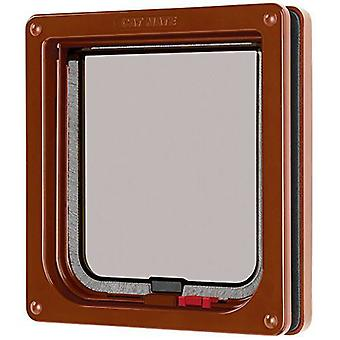 Cat Mate - Lockable Cat Flap - Brown