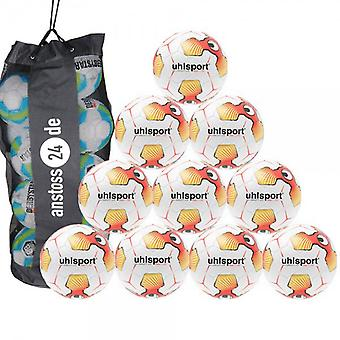 10 x Uhlsport youth ball - TRI CONCEPT 2.0 350 LITE includes ball sack