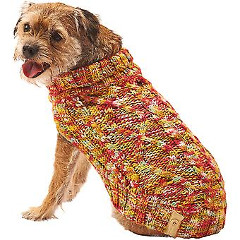 Dog Multi-Crochet Sweater-Medium 601605