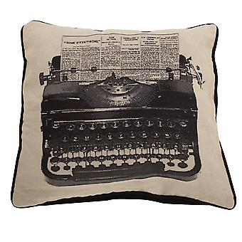 Riva Home Typewriter Cushion Cover