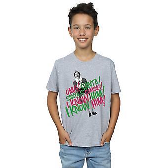 Elf Boys Santa's Coming T-Shirt