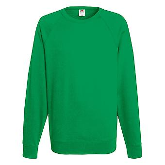 Fruit Of The Loom Mens Lightweight Raglan Sweatshirt (240 GSM)