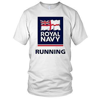 Royal Navy laufen große Fahne Damen T Shirt