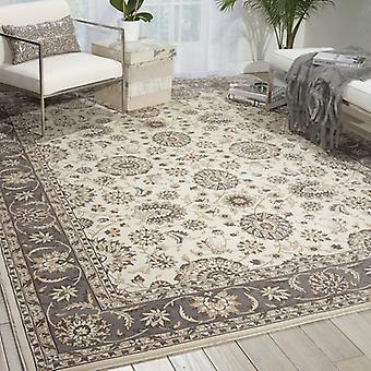 Rugs - Persian Crown - PC002 Ivory / Grey