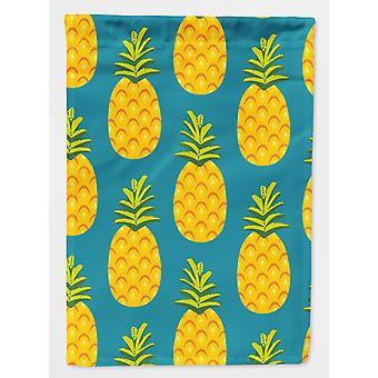 Carolines skatter BB5145GF ananas Teal flagg hage størrelse