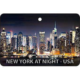 New York At Night - USA Car Air Freshener