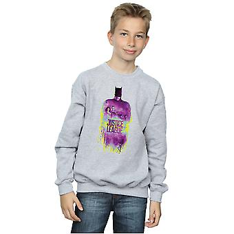 DC Comics Boys film giustizia League Team spazzolato Sweatshirt
