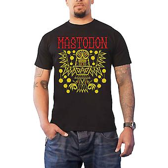 Mastodon T Shirt Tribal dæmon Tour 2017 band logo nye officielle Herre sort