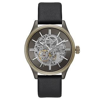 Kenneth Cole New York uomo orologio automatico in pelle KC15171004