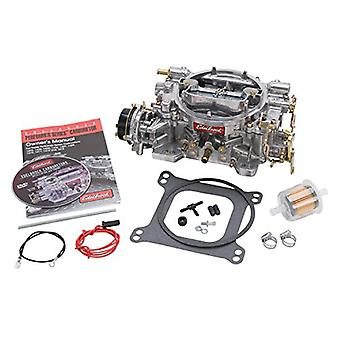 Carré de 600 CFM Performer Edelbrock 1406 alésage 4 voies Air Valve Starter électrique secondaire du carburateur
