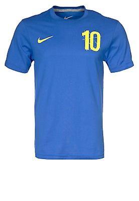2012-13 Sweden Ibrahimovic Hero T-Shirt (Blue)