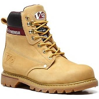 V12 V1237 Boulder Honey Nubuck Derby Boot EN20345:2011-Sbp Size 11