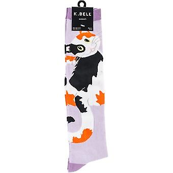 Novelty Knee High Socks-Kitty Kitty KNEEHIGH-6N064