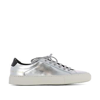 Common Projects Damen 37980547 Silber Leder Sneakers
