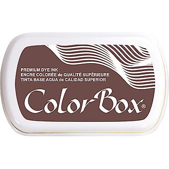 ColorBox Premium Dye Ink Pad-Leather 159-17