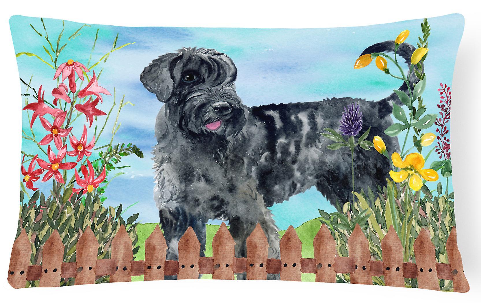 Giant Fabric Canvas Spring Pillow Schnauzer Decorative UzGqMSVp