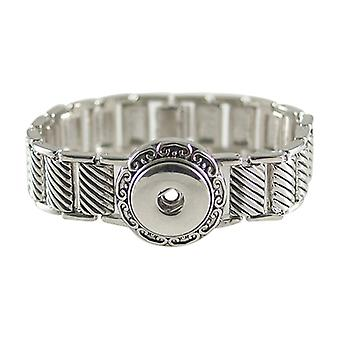 Stainless Steel Bracelet For Click Buttons Kb0174