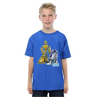 Star Wars Boys C-3PO and R2-D2 Character T-Shirt