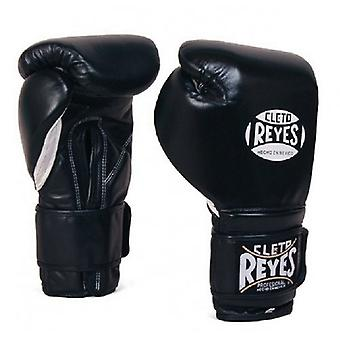 Cleto Reyes Velcro Sparring Gloves - Black