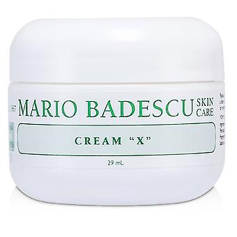 Mario Badescu Cream X - For Dry/ Sensitive Skin Types 29ml/1oz