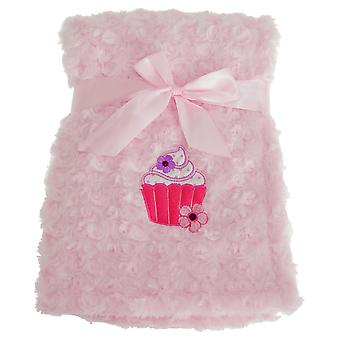Snuggle Baby Pink Baby Wrap For Someone Special With Cupcake Design