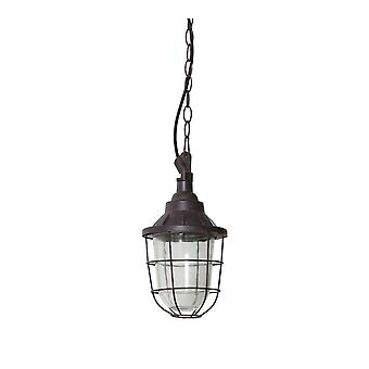 Light & Living Hanging Pendant Lamp D17x27cm Quarry Rough Metal