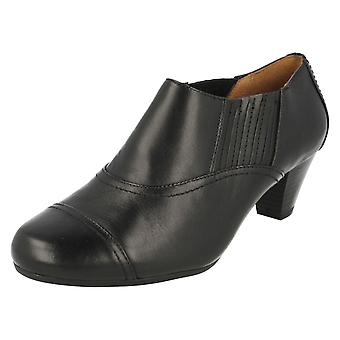 Ladies K by Clarks Smart Trouser Shoes Fearne Spruce