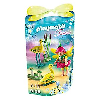 Playmobil 9138 Collectable fe pige med storke