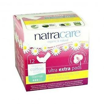 Natracare - Ultra Extra Pads Normal 12pads