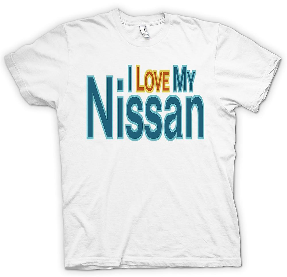 Womens T-shirt - I love my Nissan - Car Enthusiast