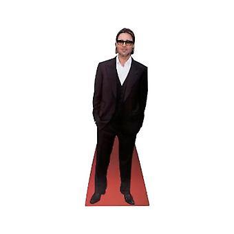 Brad Pitt bureaublad kartonnen uitsnede