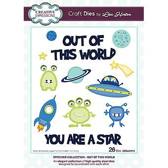 Creative Expressions Stitched Die Collection-Out Of This World