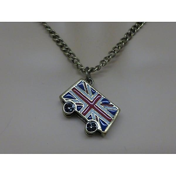 Union Jack Wear Vintage Bus Pendant