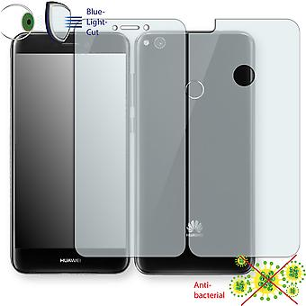 Huawei P8 Lite (2017) screen protector - Disagu ClearScreen protector (1 front / 1 rear) (deliberately smaller than the display, as this is arched)