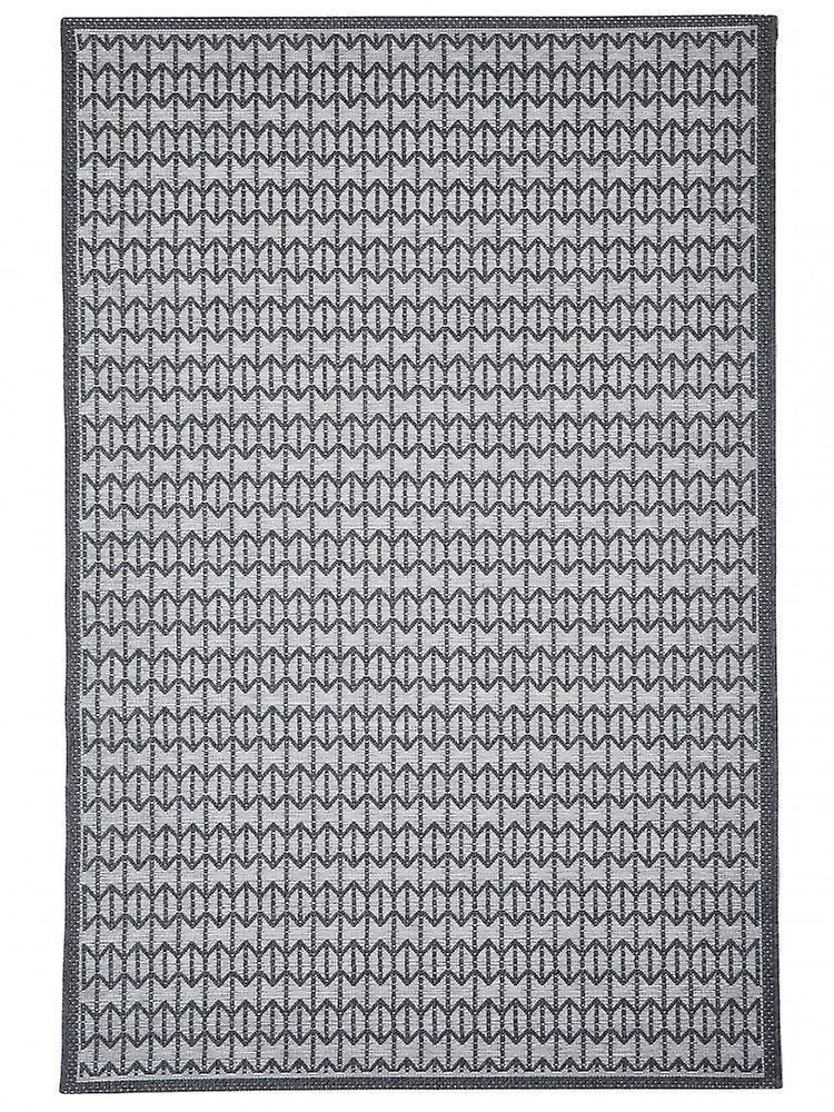 outdoor teppich f r terrasse balkon grau skandi look stuoia charcoal 130 190 cm teppich. Black Bedroom Furniture Sets. Home Design Ideas