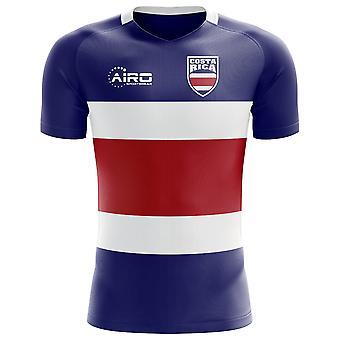 2018-2019 Costa Rica Flag Concept Football Shirt