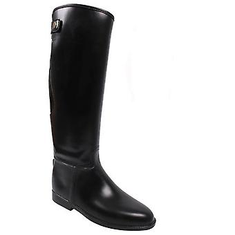 QHP Riding boots Black Adult Goma (Horses , Rider equipment , Clothes , Boots)