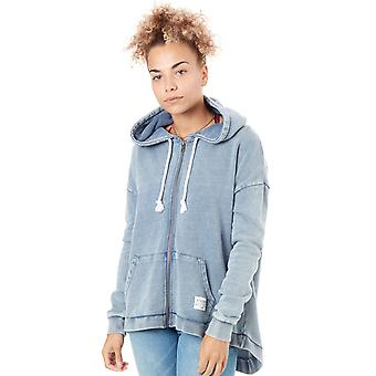 Animal Grisaille Blue Jude Womens Zip Hoody