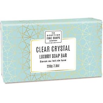 Scottish Fine Soaps Clear Crystal Luxus Seife
