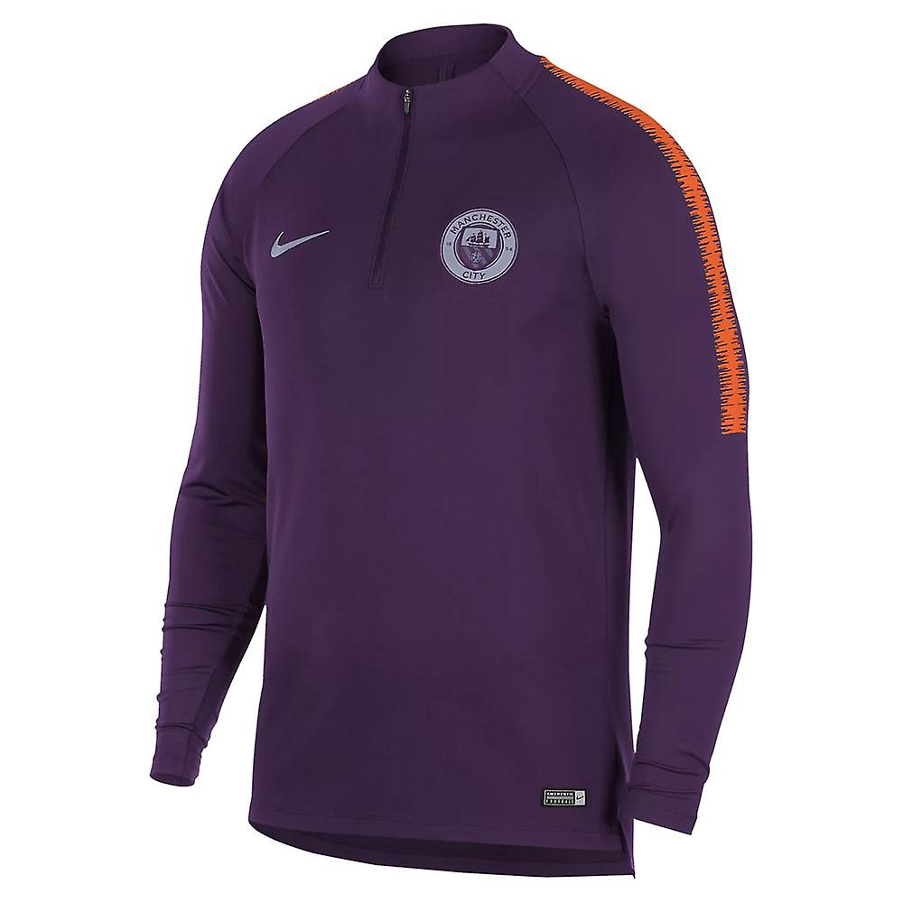 2018-2019 homme City Nike Training perceuse haut (nuit violet)