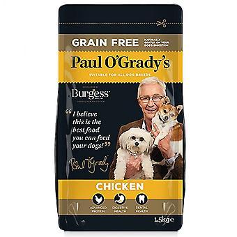 Grano gratis pollo di Paul O'Grady 1,5 kg cibo secco cane