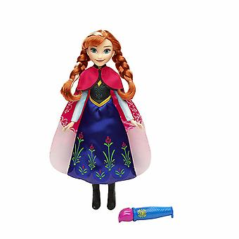 Disney Frozen Anna's Magical Story Cape Doll Frost Docka