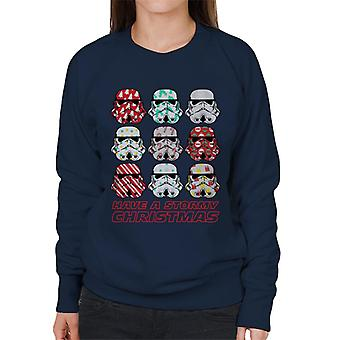 Original Stormtrooper Have A Stormy Christmas Women's Sweatshirt