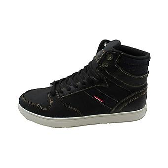 Kids Levi's Boys Brentwood Casual Hight Top Lace Up Walking Shoes