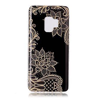 MTK Samsung Galaxy S9 SM-G960 TPU  - Elegant Flower