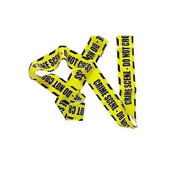 Halloween y terror cinta plástica 'La escena del crimen'