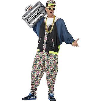 80 Hip Hop drakt, One Size