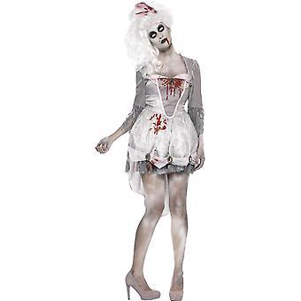Zombie georgiano traje, Reino Unido 16-18