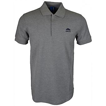 Ellesse Italia San Vito Regular Fit Basic Logo Grey Polo